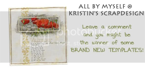 All By Myself...@ Kristin&#039;s ScrapDesign *Updated with winners
