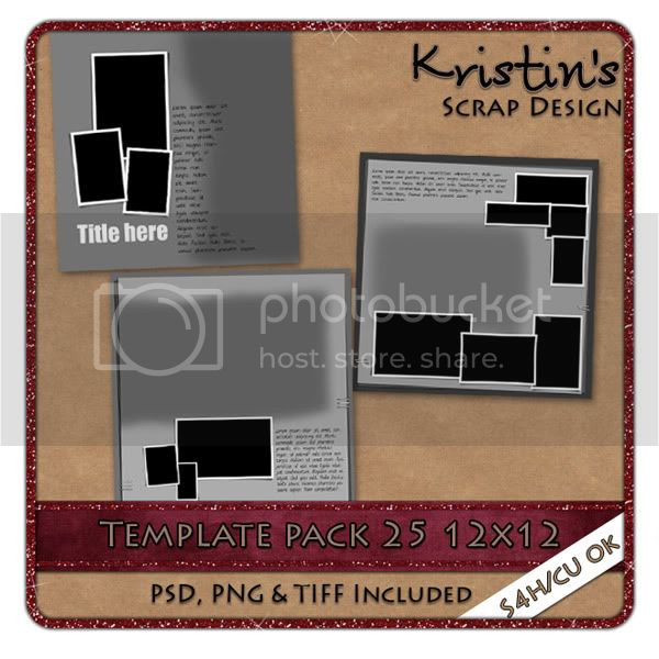 template pack 25 with blending masks