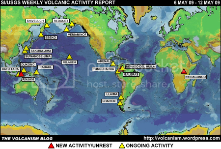 SI/USGS Weekly Volcanic Activity Report 6-12 May 2009