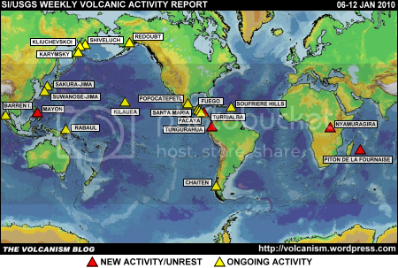SI/USGS Weekly Volcanic Activity Report 6-12 January 2010