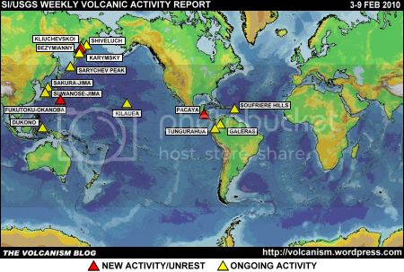 SI/USGS Weekly Volcanic Activity Report 3-9 February 2010