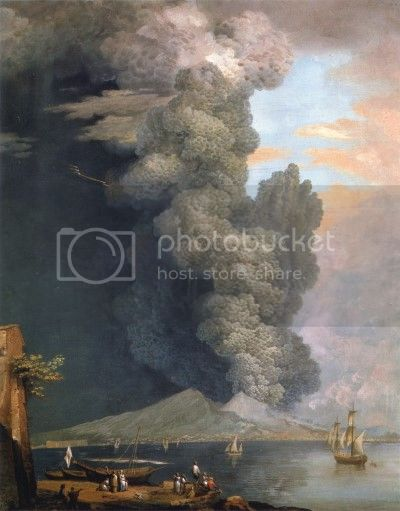 Xavier Della Gatta, 'Eruption of Vesuvius' (1794).
